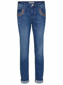 Mos Mosh Naomi muscat long jeans - Blue denim