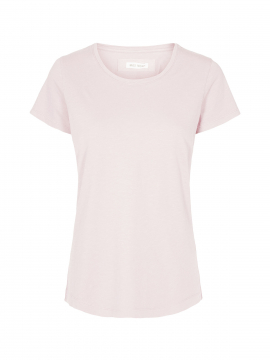 Mos Mosh Arden o-neck tee - Soft rose