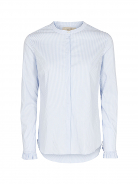 Mos Mosh Mattie stripe shirt - Light blue
