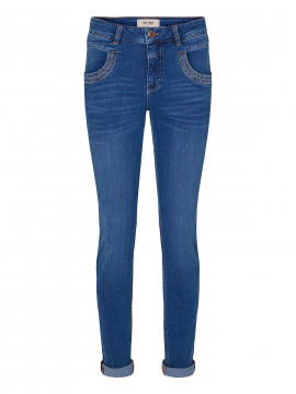 Mos Mosh Naomi Core luxe jeans - Blue