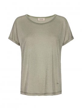 Mos Mosh Kay S/S o-neck tee - Oil green