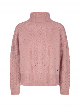 Mos Mosh Marylin Knit - Peach beige