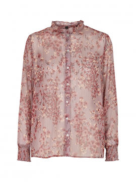 Prepair Kate flower branch shirt - Purple