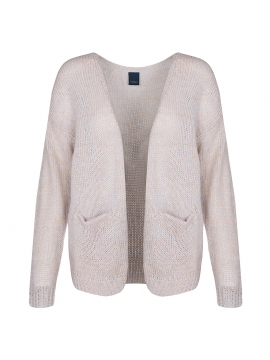 One Two Luxzuz Urd knit cardigan - Pearly