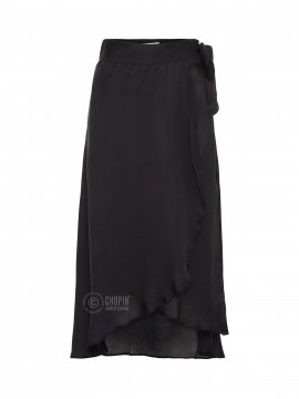Fashion by Blue Co. Justin mid skirt - Black