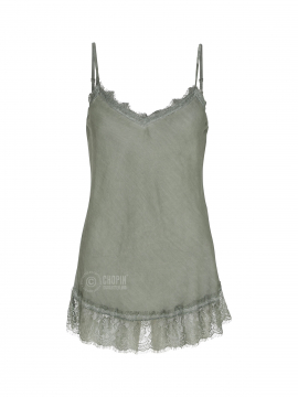 Fashion by Blue Noomi strap top - Army