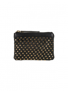 Depeche Party rivet purse - Gold