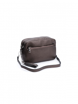 the Rubz Cindy small crossbody - Warm metal