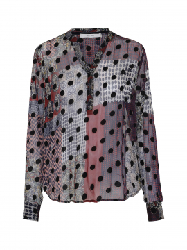 Costamani Alexia Ciffon shirt - Black
