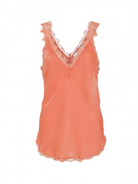 Costamani Moneypenny top - Coral