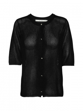 Costamani Linda lurex cardigan - Black