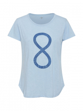 Costamani Infinity S/S Tee - Light blue