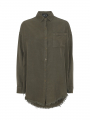 Chopin Falka raw shirt - Army