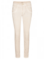 Mos Mosh Naomi embroidery soft pant - Soft beige