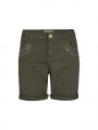 Mos Mosh Naomi muscat shorts - Greap leaf