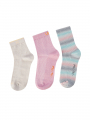 Mos Mosh Lurex socks 3. pack - Bubble pink