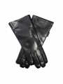 Randers handsker Lamb w/curly lamb gloves - Black