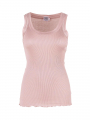 Saint Tropez Silk tank top - Rose