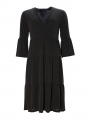 One Two Luxzuz Larisa solid dress - Black