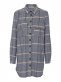 Costamani Columbine check shirt - Blue