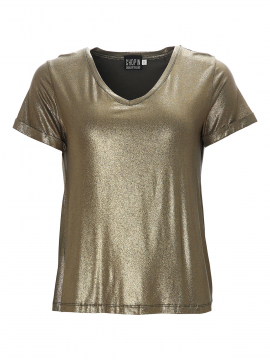 Chopin Felicia Gold V-neck tee - Green