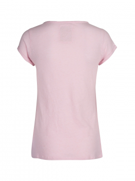 Mos Mosh Troy S/S Tee - Soft rose