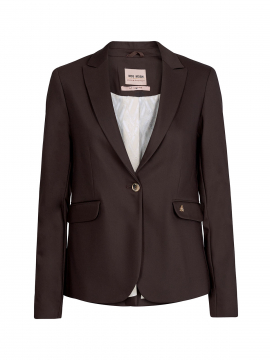 Mos Mosh Blake night blazer sustainable - Coffee Bean