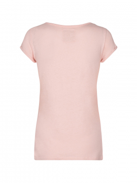 Mos Mosh Troy S/S Tee - Chintz rose