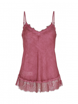 Fashion by Blue Noomi strap top - Bordeaux