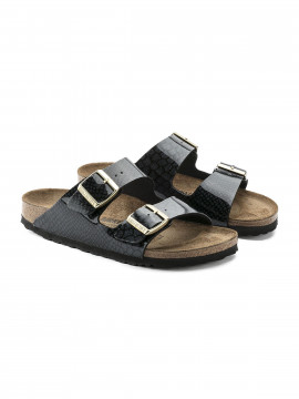 Birkenstock Arizona BF Magic snake Narrow sandal - Black