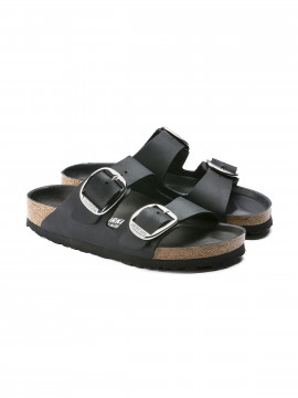 Birkenstock Arizona big buckle FL luxury sandal - Black