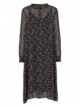 Prepair Dicte branches dress - Black