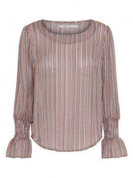 Costamani Vivi stripe top - Peach