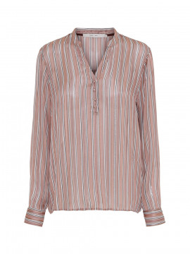 Costamani Alexia stripe top - Peach
