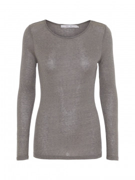 Costamani Agnes shine Tee - Grey