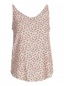 Gila & Feldt Merle flower top - White