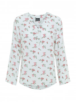 Chopin Sellmina small flower shirt - Offwhite