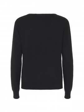 Chopin Jackie O-neck knit - Black