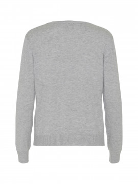 Chopin Jackie O-neck knit - Light grey