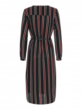 Chopin Jacklyn stripe dress - Black