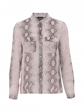 Chopin Mikkeline snake shirt - Light rose