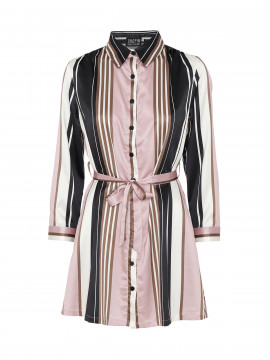 Chopin Flika stripe shirt - Rose
