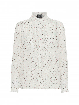 Chopin Fanny arrow leaves shirt - White
