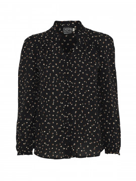 Chopin Fiona yin yang shirt - Black