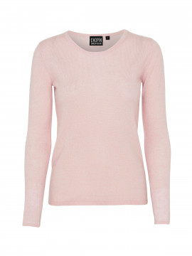 Chopin Dacia cashmere O-neck - Rose