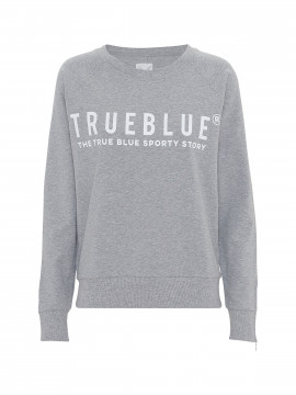 Blue Sportswear Kejser sweat - Grey melange