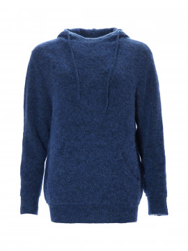 Blue Sportswear Salt lake knit hoodie - Bright blue