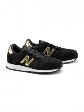 New Balance WL520GDA classic sneakers - Black/gold