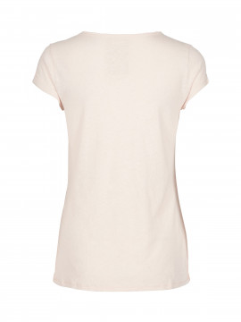 Mos Mosh Troy Tee S/S - Rose