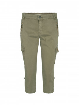Mos Mosh Gilles cargo 3/4 pants - Army